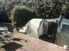 Our bargain tent