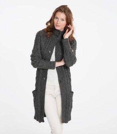 Aran coat cardigan £49